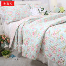 Bedding Set / four piece set / multi piece set Other / other Others Others 40 cotton Quilting Plants and flowers 133x72 Romantic little rose other Sheet type and cover type Superior products Countryside plain cloth Reactive Print  Rose bedding 50 * 70cm single pillow case
