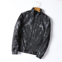 Jacket Other / other Fashion City camouflage 165,170,175,180,185,190 thin Self cultivation go to work autumn HL camouflage jacket 173a Long sleeves Wear out stand collar Business Casual youth routine Zipper placket 2019 Rubber band hem Closing sleeve camouflage Zipper decoration Zipper bag