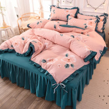 Bedding Set / four piece set / multi piece set Others other Plants and flowers 128x70 Other / other Others 4 pieces 30