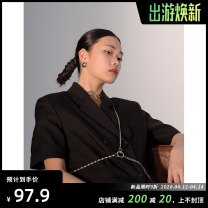 Other jewelry Mixed materials 51-100 yuan Body chain, does not support the refund behavior for the purpose of shooting, the home page focuses on the shop to get 3 yuan threshold free coupons brand new Original design Basheng Ganzhou goods in stock lovers