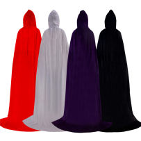 National costume / stage costume Spring 2017 Grey hooded cape hooded cape RED HOODED CAPE black hooded cape Navy 1.1m 1.3m 1.5m 1.7m