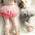 skirt 100cm, 110cm, 120cm, 130cm, 140cm, tips: small, it is recommended to choose a larger size Pink, gray What are you doing female Cotton 95% polyester 5% summer skirt princess Solid color Cake skirt cotton other