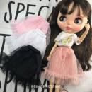 Doll / accessories 6 years old, 7 years old, 8 years old, 9 years old, 10 years old, 11 years old, 12 years old, 13 years old, 14 years old and above parts yVOp China Blythe / licca / Kor / 6 BJD Pink memory, retro impression, night, day, this link is for sale only half skirt, no other currency A0014
