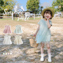 Dress female 100cm,110cm,120cm,130cm,140cm,150cm,160cm Cotton 95% other 5% cotton other 2 years old, 3 years old, 4 years old, 5 years old, 6 years old