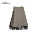 skirt Summer 2021 S M L XL Coffee color, coffee color Middle-skirt gorgeous Natural waist A-line skirt Solid color Type A 30-34 years old XZGPS3124B 51% (inclusive) - 70% (inclusive) Chiffon N. PAIA / enpaya silk Mulberry silk 50.9% polyester 49.1%