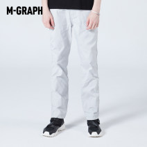 Casual pants M-GRAPH Youth fashion M11 M75 170/80A/S 175/84A/M 180/88A/L 185/92A/XL trousers Other leisure easy 506S2F03 Other polyester 95% 5% Spring 2016 Same model in shopping mall (sold online and offline)