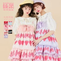 Lolita / soft girl / dress Baciobouquet / Corylus cocoa bouquet Black, blue, red, cream white, pink, gradient peach, gradient grape L,M,S