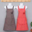 apron Sleeveless apron antifouling Japanese  pure cotton Household cleaning Average size public yes like a breath of fresh air
