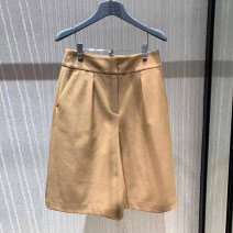 Casual pants khaki 1 / XS, 2 / s, 3 / m, 4 / L, 5 / XL Summer 2021 Pant Straight pants High waist Versatile routine 25-29 years old 51% (inclusive) - 70% (inclusive) 5100321-4222553-001 O'amash banner other pocket