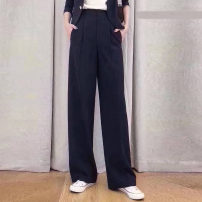 Casual pants Black, white, caramel, taro purple 1 / XS, 2 / s, 3 / m, 4 / L, 5 / XL Spring 2021 trousers Wide leg pants High waist Versatile routine 71% (inclusive) - 80% (inclusive) 5100261-2062871-001 Santa Anastasia Cellulose acetate pocket