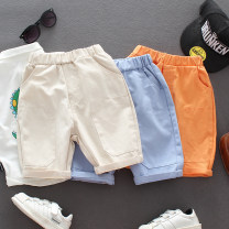 trousers GUALITYBUY male [90] tag 90, [100] tag 100, [110] tag 110, [120] tag 120, [130] tag 130 summer Pant Korean version No model Casual pants Leather belt middle-waisted cotton Don't open the crotch Cotton 95% polyurethane elastic fiber (spandex) 5% Class B