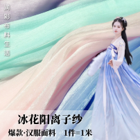 Fabric / fabric / handmade DIY fabric chemical fiber Loose shear rice Solid color printing and dyeing clothing Chinese style Life of moistening color cloth Chinese Mainland
