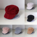 Hat other M(56-58cm) winter female leisure time Short eaves other Shopping