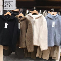 short coat Winter 2020 S,M,L,XL Long sleeves routine routine singleton  Straight cylinder commute routine Hood zipper Solid color 25-29 years old Other / other 91% (inclusive) - 95% (inclusive) zipper polyester fiber polyester fiber
