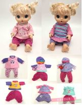 Doll / accessories Three, four, five, six parts Other / other China Only baby clothes, not dolls < 14 years old Baby clothes parts clothing