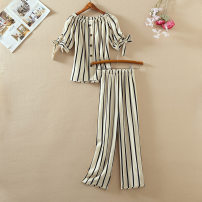 Fashion suit Summer 2020 S,M,L,XL 25-35 years old CINISIOR Fashion suit 81% (inclusive) - 90% (inclusive) cotton