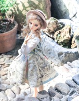 BJD doll zone Dress 1/3 Over 14 years old goods in stock Elk skirt, Tucker shirt Three point universal size, 16sd