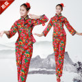 National costume / stage costume Spring of 2018 gules