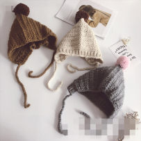 Hat Average size Red gray black camel pink off white 2-7 years old female leisure time Other / other No eaves AS7369