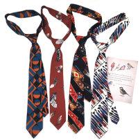 necktie Arrow tie Common type (7cm-12cm) Ordinary dress decorative pattern other leisure time printing blending 7cm