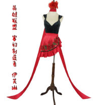 Cosplay women's wear suit Customized Over 14 years old clothes game 50. M, s, tailored Manyangyang Europe and America Lovely wind, Yu Jie fan League of Heroes