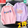 Sweater / sweater NGGGN female 110cm 120cm 130cm 140cm 150cm 160cm 165cm spring and autumn nothing motion Socket Thin money There are models in the real shooting cotton Cartoon animation Cotton 83% polyester 17% Class B Cotton liner Spring 2021