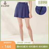 Casual pants Navy / 59 160/64A,165/68A,170/72A Summer of 2019 25-29 years old 96% and above EETC924W1M E·LAND polyester fiber