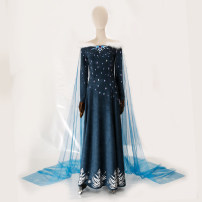 Cosplay women's wear suit goods in stock Over 14 years old Animation, film and television S. M, l, XL, customized Europe and America Ice and snow 2 Aisha