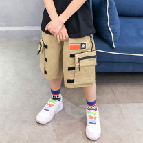 trousers Other / other male 120cm,130cm,140cm,150cm,160cm,170cm Black, khaki summer Pant Korean version There are models in the real shooting Harlem Pants / knickerbockers Leather belt middle-waisted cotton Don't open the crotch Cotton 90% other 10% Class B Chinese Mainland Zhejiang Province Hangzhou