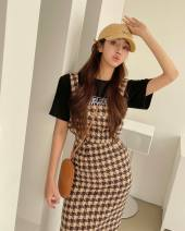 Fashion suit Spring 2021 S, M Khaki suit, black and white suit 18-25 years old 96% and above cotton