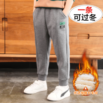 trousers Other / other male 110cm,120cm,130cm,140cm,150cm,160cm,170cm spring and autumn trousers motion There are models in the real shooting Sports pants Leather belt middle-waisted Don't open the crotch NALPG-8376X ZBZY Three, four, five, six, seven, eight, nine, ten, eleven, twelve