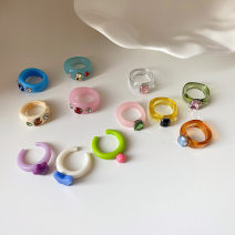 Ring / ring other RMB 1.00-9.99 Other / other brand new goods in stock Japan and South Korea female Fresh out of the oven Not inlaid
