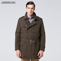 Windbreaker London fog Business gentleman double-breasted Medium length easy Other leisure cotton Spring 2016 50% (inclusive) - 69% (inclusive)