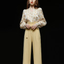 Fashion suit Spring 2021 S,M,L,XL,XXL Yellow long sleeves (5-7 days delivery), yellow long sleeves (stock), yellow short sleeves (5-7 days delivery), yellow short sleeves (stock) 25-35 years old Duffy fashion DC21987 91% (inclusive) - 95% (inclusive) polyester fiber