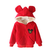 Plain coat Other / other neutral 80cm,90cm,100cm,110cm,120cm,130cm,140cm,150cm,160cm winter leisure time Zipper shirt There are models in the real shooting thickening No detachable cap Cartoon animation Cotton blended fabric Crew neck Cotton 100%