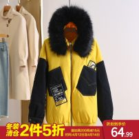 Down Jackets Winter 2020 Other / other yellow M, L White duck down 80% routine Long sleeves routine zipper Straight cylinder HET08Y022 96% and above