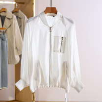 short coat Spring 2021 S,M,L,XL,2XL white Long sleeves routine routine singleton  Other / other 96% and above other