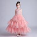 Dress Summer 2020 White, pink 120cm,130cm,140cm,150cm,160cm,170cm Under 17 Doveark CK1280