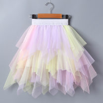 skirt The recommended height is about 100cm for Size 110, 110cm for Size 120, 120cm for Size 130, 130cm for size 140, 140cm for size 150 and 90cm for size 100 White, black, pink yellow, blue pink Bubble orange female Other 100% summer skirt princess Solid color Pleats other Q1930 Class B
