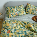 Bedding Set / four piece set / multi piece set cotton other Plants and flowers 133x72 Other / other cotton 4 pieces 40 Fairyland, impression, Rabbit Garden, Monet, peach, flower cluster, sapphire, hedgerow, mushroom, Nanzhi, midsummer, xinrou, happiness gate, peach Bedspread type Countryside 100%