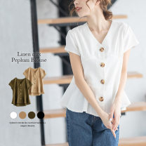 Parent child fashion White, black, khaki, apricot other female Other / other M,L,XL Type * undetermined spring solar system Solid color shirt cotton M,L,XL lgww-af1098 other M,L,XL 2 years old Chinese Mainland