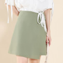 skirt Summer 2021 S,M,L,XL light green Other / other polyester fiber