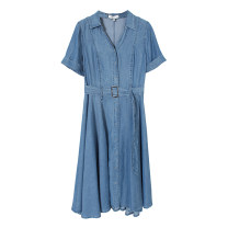 Dress Summer 2021 Denim blue S Other / other More than 95% other