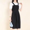 Dress Summer 2021 Black, navy blue M,L,XL,2XL Other / other 8819XYF 51% (inclusive) - 70% (inclusive) polyester fiber