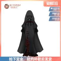 Dress Spring 2021 The deposit for skirt is 118 yuan, the deposit for skirt is 88 yuan, the deposit for matching cape is 59 yuan, the deposit for inside and outside matching is 49 yuan, and the deposit for witch hunting necklace is 18 yuan S,M,L Mid length dress singleton  Sleeveless Sweet other other