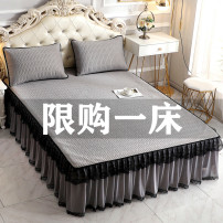 Bed skirt 120x200cm bed: two piece latex mat, 150x200cm bed: three piece latex mat, 180x200cm bed: three piece latex mat, 200x220cm bed: three piece latex mat Others Good sleep, good dream Solid color