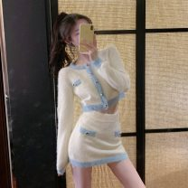 Fashion suit Autumn 2020 S,M,L,XL Top, skirt 18-25 years old Yao  ESRN92532 31% (inclusive) - 50% (inclusive) Mink hair
