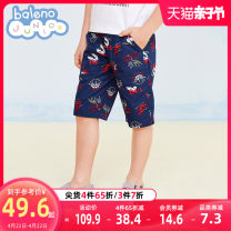 trousers baleno junior male 100cm 110cm 120cm 130cm 140cm 150cm 76b solid dark blue 74g classic green 36K latte 91P dark purple summer shorts motion There are models in the real shooting Casual pants Leather belt middle-waisted cotton Don't open the crotch Cotton 100% Class B Spring 2021