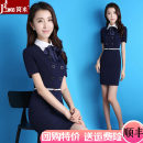Professional dress suit S,M,L,XL,XXL,XXXL Summer 2017 Short sleeve Other styles A-line skirt 25-35 years old Qiyan 91% (inclusive) - 95% (inclusive) Vinylon