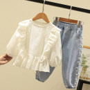 suit Other / other 110cm,120cm,130cm,140cm,150cm,160cm female spring and autumn leisure time Long sleeve + pants 2 pieces routine No model Socket nothing other Class B Three, four, five, six, seven, eight, nine, ten, eleven, twelve